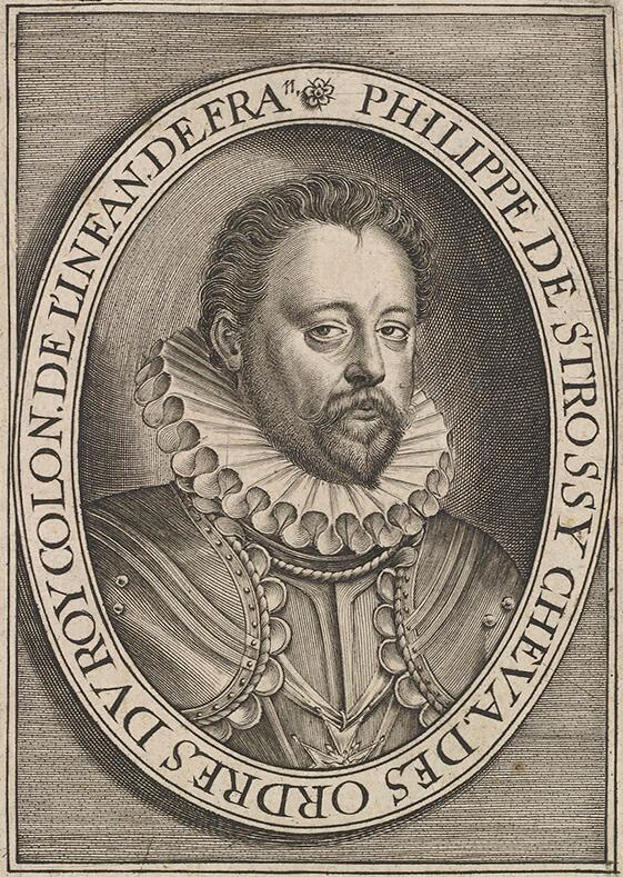 Filippo Strozzi roku 1581, tedy rok před svou smrtí.
