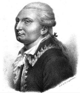 Jacques-Antoine-Hippolyte, Comte de Guibert (12. listopadu 1743 – 6. května 1790), autor Essaigénéral de Tactique, spoluautor řady předpisů a jeden z duchovních otců předpisu z 1. srpna 1791.