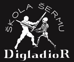 Logo školy šermu Digladior
