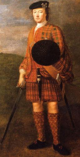 Generál George Murray, klíčová osobnost jakobitského povstání roku 1745, s nímž však měl princ Karel před bitvou u Cullodenu hodně sporů.