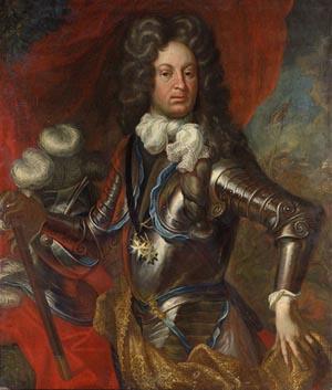 Portrét polního maršála Johanna Christopha Seherr-Thoss