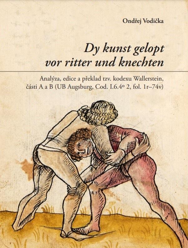 """Přebal knihy """"Dy kunst gelopt vor ritter und knechten"""" od Ondřeje Vodičky"""