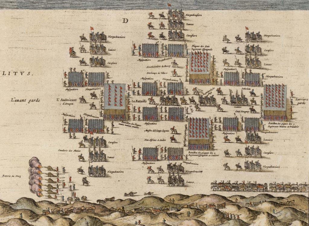 Flanderská armáda před bitvou u Neiupoortu