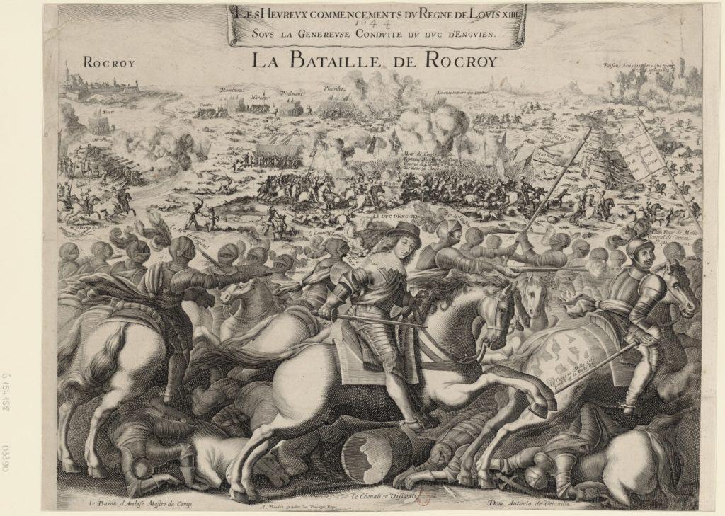 Rocroi - Vyobrazení bitvy u Rocroi
