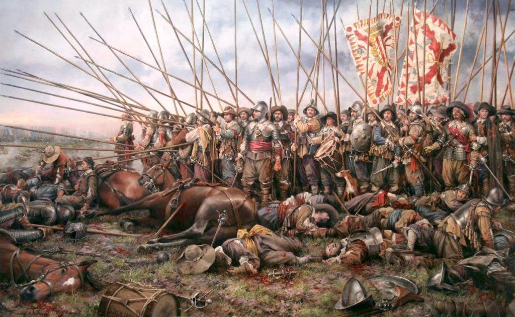 Bitva u Rocroi Augusto Ferrer Dalmau