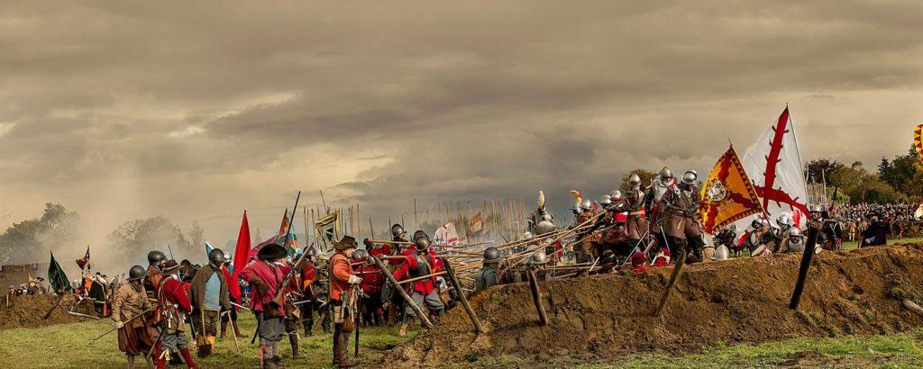 Bitevní rekonstrukce Slag am Grolle připomíná střet z roku 1627 a je zřejmě v současnosti největší rekonstrukcí třicetileté války