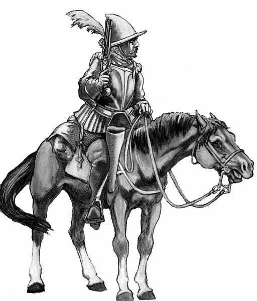 Německý rejtar z druhé poloviny 16. století