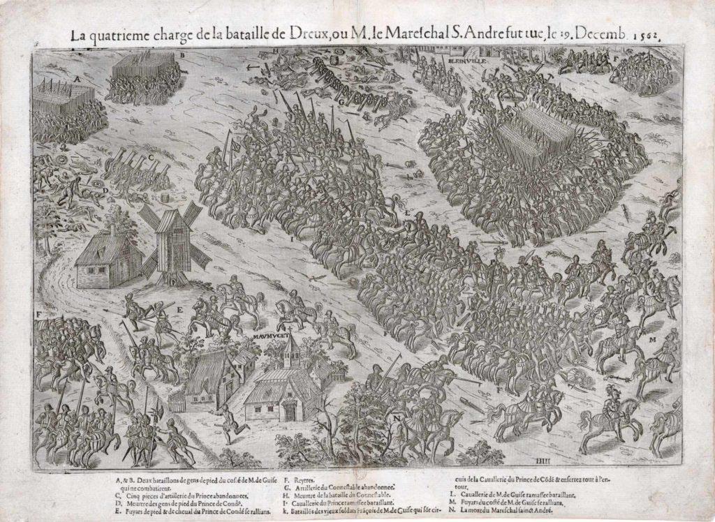 Závěrečná fáze bitvy u Dreux