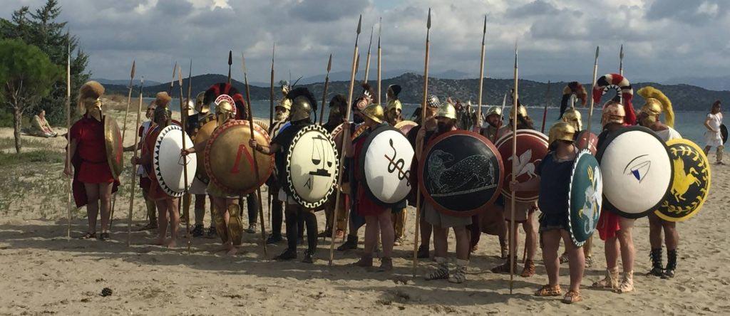 Reenactment starověkého Řecka, jedna z hlavních vášní Christiana Camerona