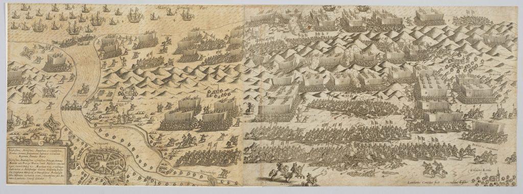 Rytina bitvy u Nieuwpoortu