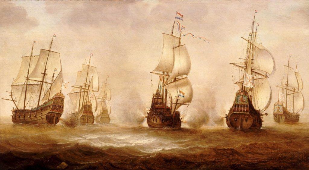 Korzárské lodě z Dunkerku