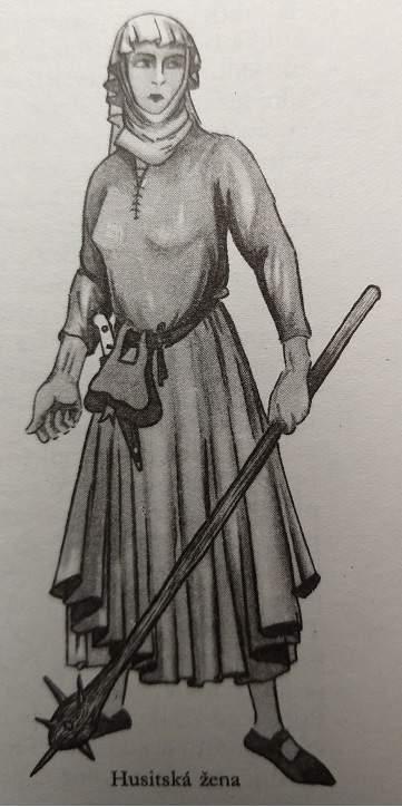 Husitská žena - Wagner