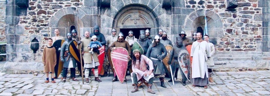 Čeští válečníci z 12. století v podání členů Curie Vitkov
