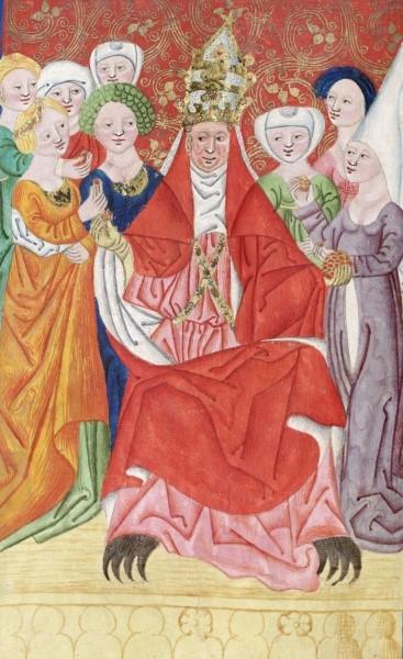 Jenský kodex - papež