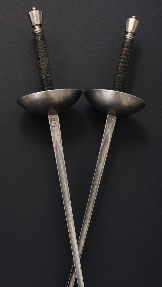 Francouzské duelové kordy z doby druhého císařství (1852–1870)